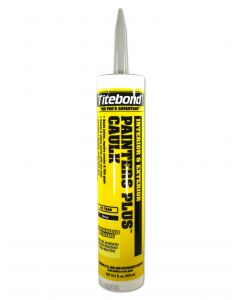 Franklin International Titebond Painter's Plus Sealant Painter's Caulk 10.1 Oz Gray Acrylic