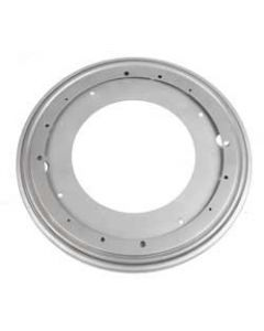 "Lazy Susan Galvanized Steel Round Ball Bearing Swivel With Stop Detent 12"" 1000 lbs by Triangle"