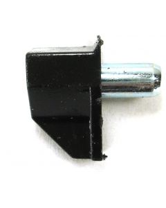 Shelf Pin Plastic Clip / Metal Pin 5mm Black Finish Bag 100 PN: W-SP-5MM-BLK